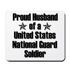 Proud NG Husband Star Mousepad
