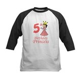 5th Birthday Princess Tee