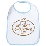 Baby's First Groundhog Day Bib