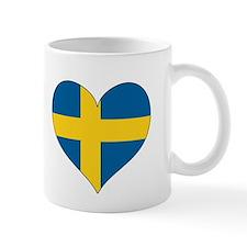 Flag in Heart Mug
