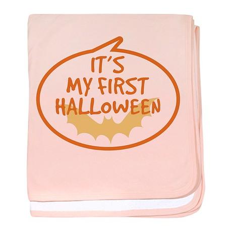 Baby's First Halloween baby blanket