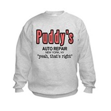 Puddy's Auto Repair Seinfield Sweatshirt