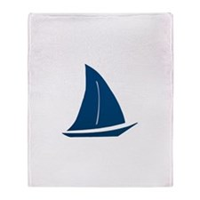 Sailboat Throw Blanket