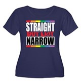 Straight But Not Narrow Women's Plus Size Scoop Ne