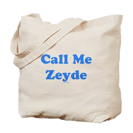 Call Me Zeyde Jewish Tote Bag