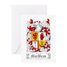 MacBean Greeting Card