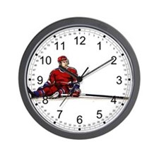 Missed Goal Hockey Wall Clock