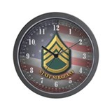 Staff Sergeant Wall Clock