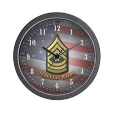 Sergeant Major Wall Clock