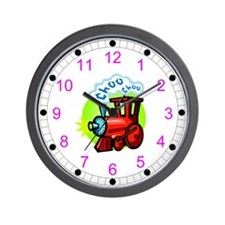 Choo Choo Kids Wall Clock