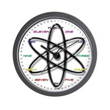 Nuclear Science Kids Wall Clock