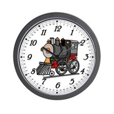 Kids Train Wall Clock