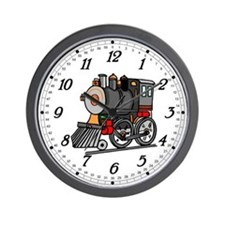 Kids Train Wall Clock
