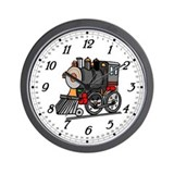 Train Kids Wall Clock