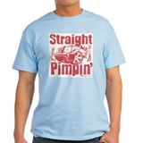 Straight Pimpin' Ash Grey T-Shirt