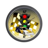 Underground Racing Wall Clock