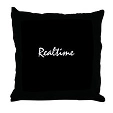 Realtime Throw Pillow