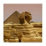 Egypt Pyramid and Sphinx Tile Coaster