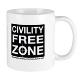 Civil Free Zone Coffee Mug