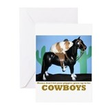 Guinea Pig Cowboys! Greeting Cards (Pk of 10)