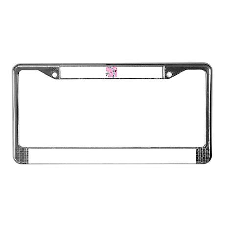 CUPIDS ARROW {5} License Plate Frame