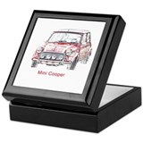 Unique Cooper Keepsake Box