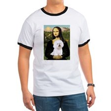 Mona and her Bichon  T