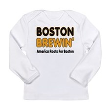 Boston Brewin' Long Sleeve Infant T-Shirt