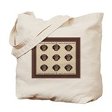 Chocolate Puppy Kiss Tote Bag