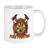Maltese Cross - Fire Fighter Small Mugs