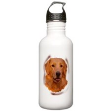 Golden Portrait Two Sports Water Bottle