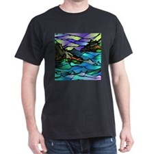 COASTAL Black T-Shirt