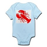Lobster baby Bodysuits