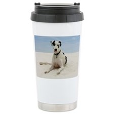 GREAT DANE BEACH Ceramic Travel Mug