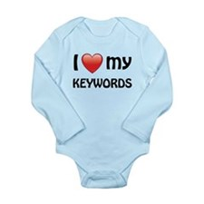 I Love My Keywords Onesie Romper Suit
