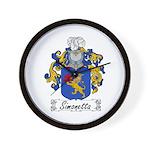 Simonetta Family Crest Wall Clock