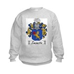 Simonetta Family Crest Kids Sweatshirt
