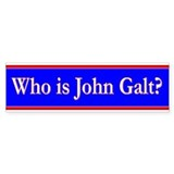 John Galt Car Sticker