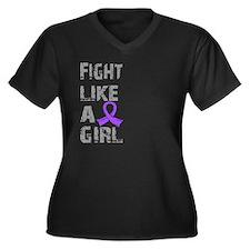 Fight Like A Girl Hodgkin's Lymphoma Women's Plus