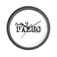 Body by paleo Wall Clock