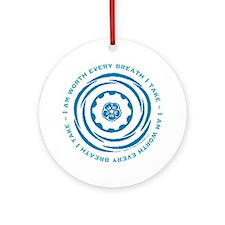 Worth Every Breath Ornament (Round)