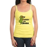 New Jersey for Obama 2012 Jr. Spaghetti Tank