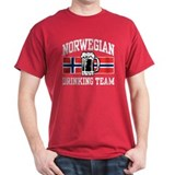 Norwegian Drinking Team T-Shirt