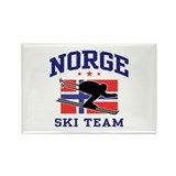 Norge Ski Team Rectangle Magnet