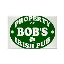 Bob's Irish Pub Rectangle Magnet