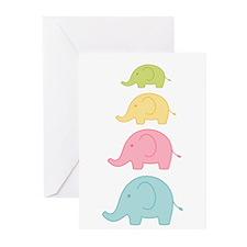 Elephant Greeting Cards (Pk of 10)