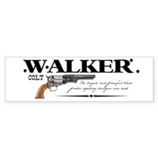 Walker Colt Bumper Sticker
