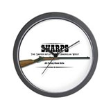 Sharps Rifle Wall Clock