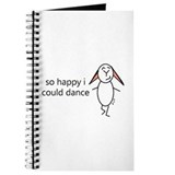 Funny Happy bunny day Journal