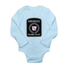 Arkansas Highway Police Long Sleeve Infant Bodysui